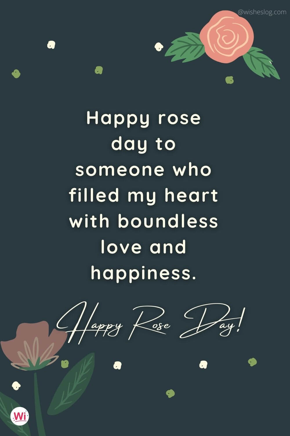 happy rose day msg