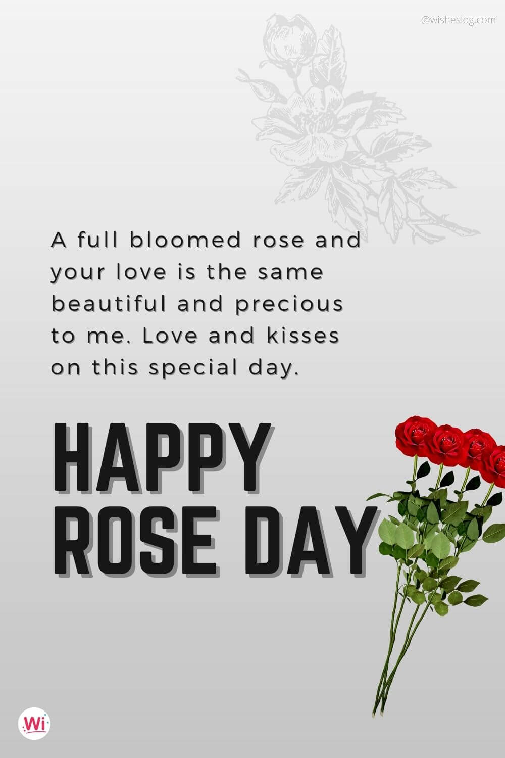 happy rose day wishes for gf