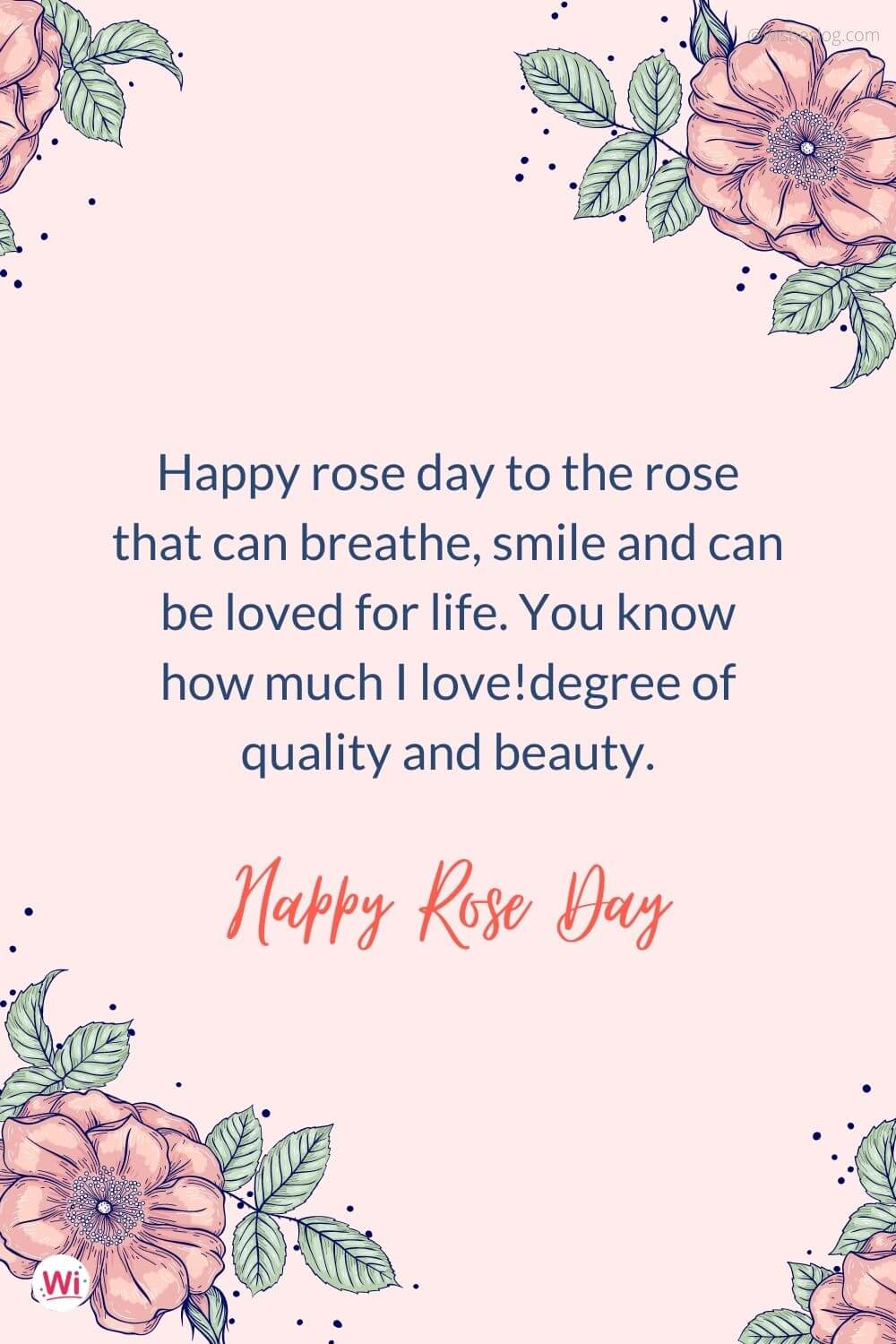 rose day quotes for my love