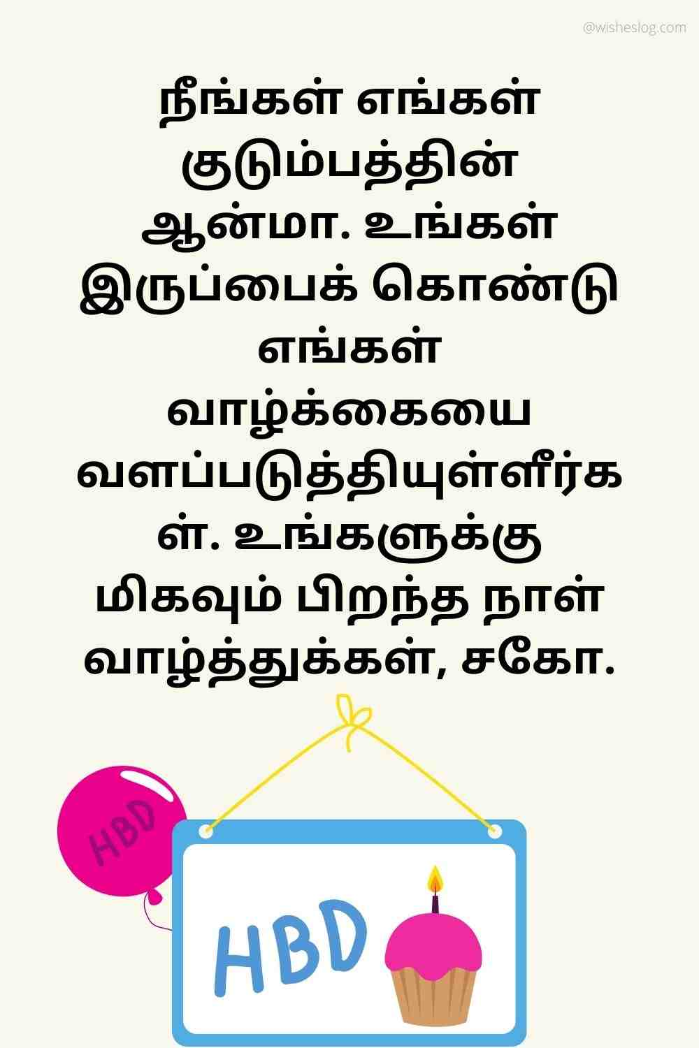 birthday wishes for younger bro in tamilu