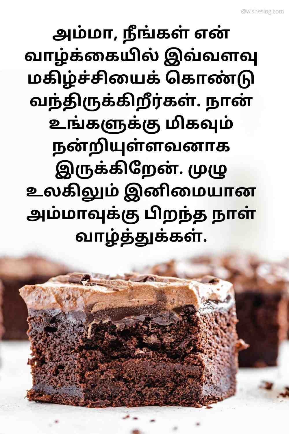 birthday quotes in tamil for mom