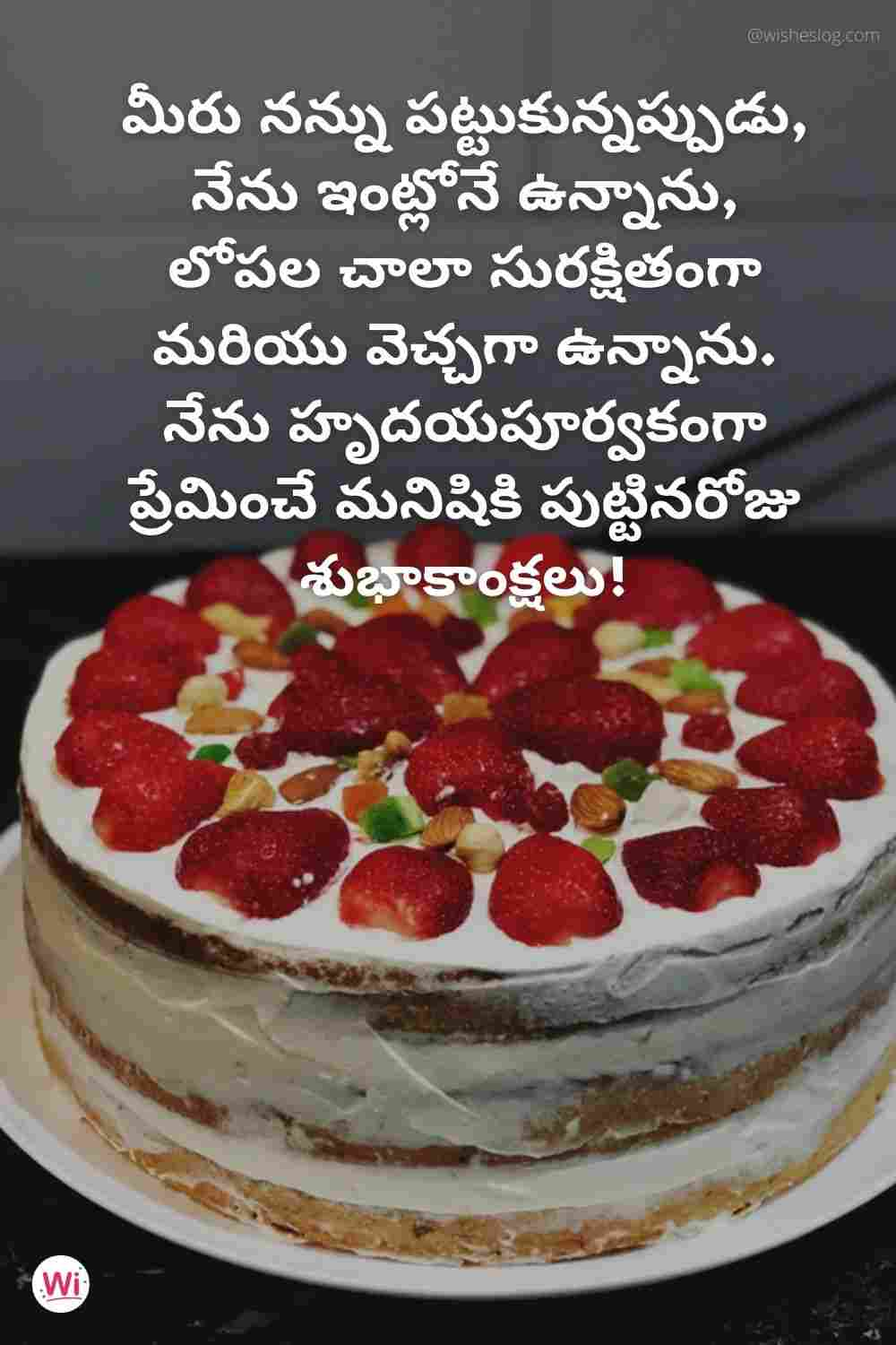 happy birthday quotes in telugu