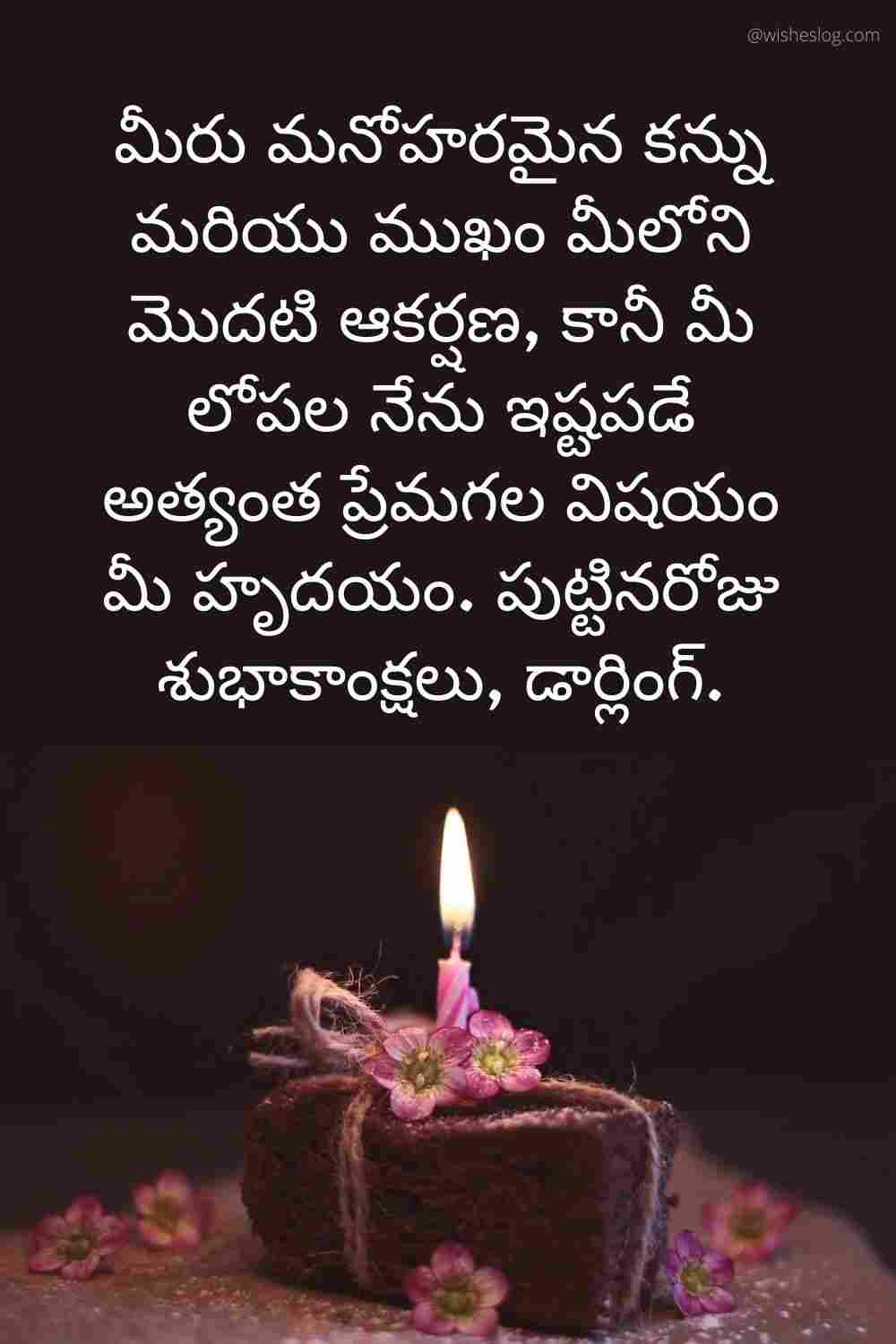 happy birthday to you in telugu