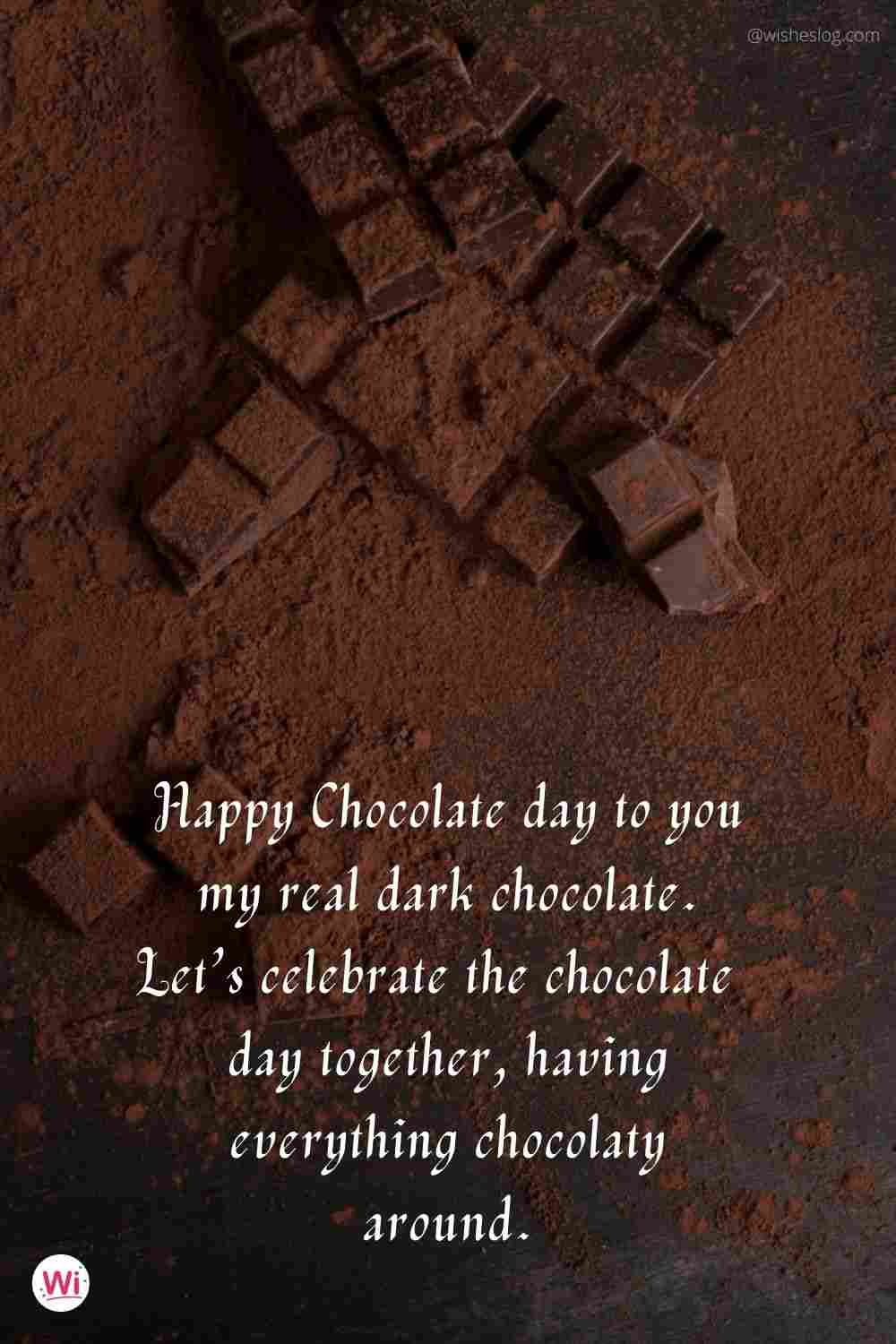 Chocolate day for girlfriend