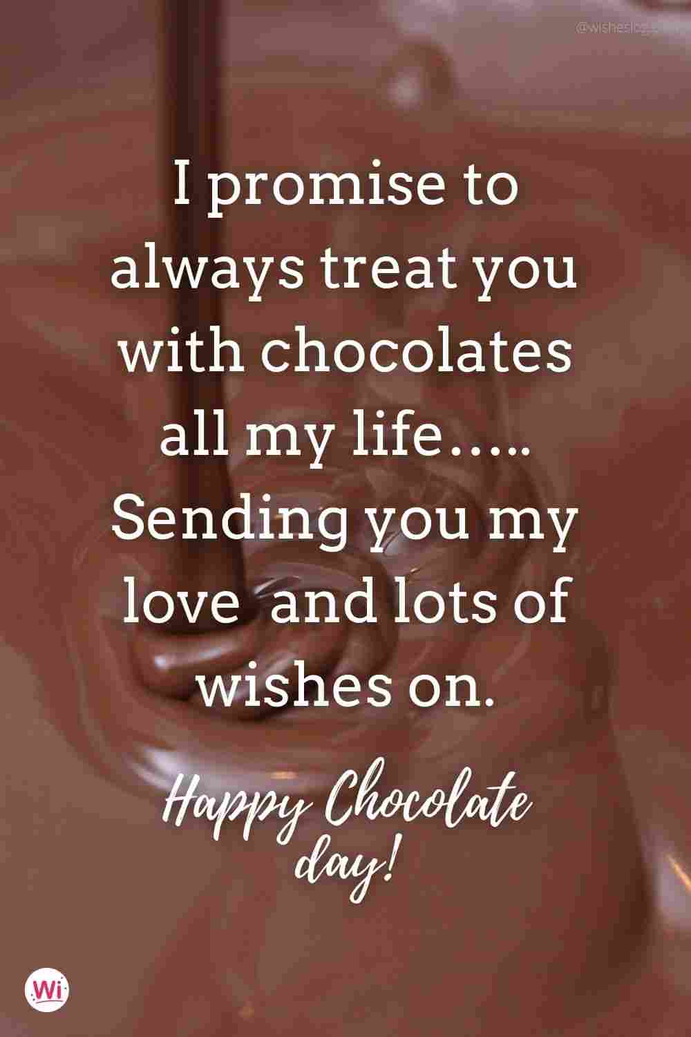 happy chocolate day wishes for girlfriend