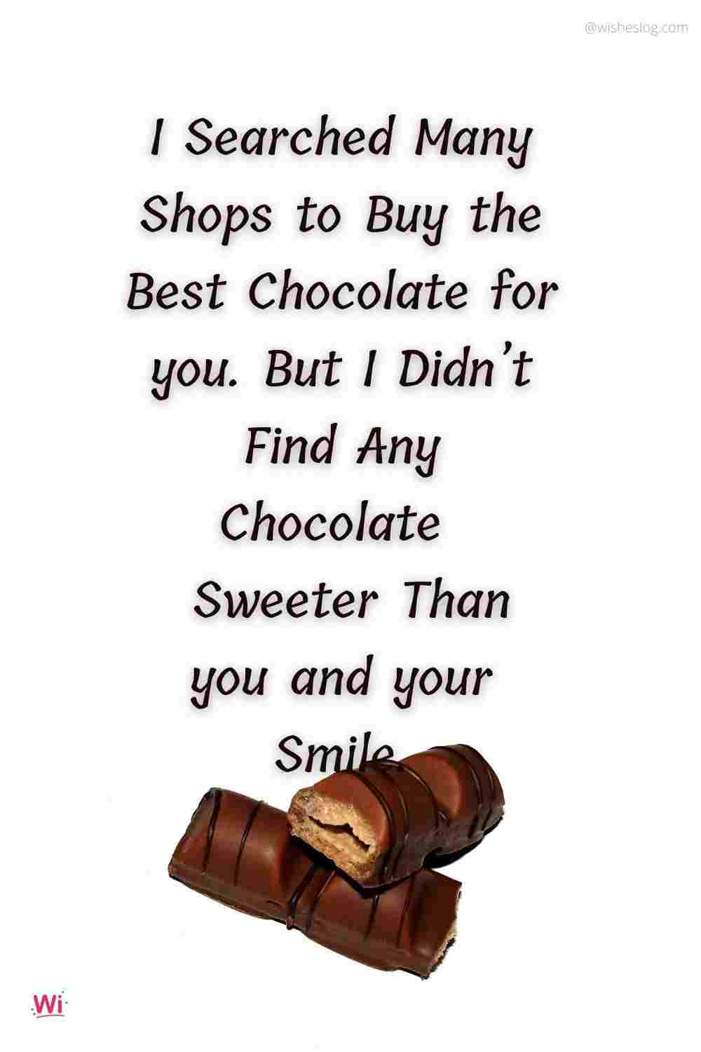 chocolate day messages for girlfriend