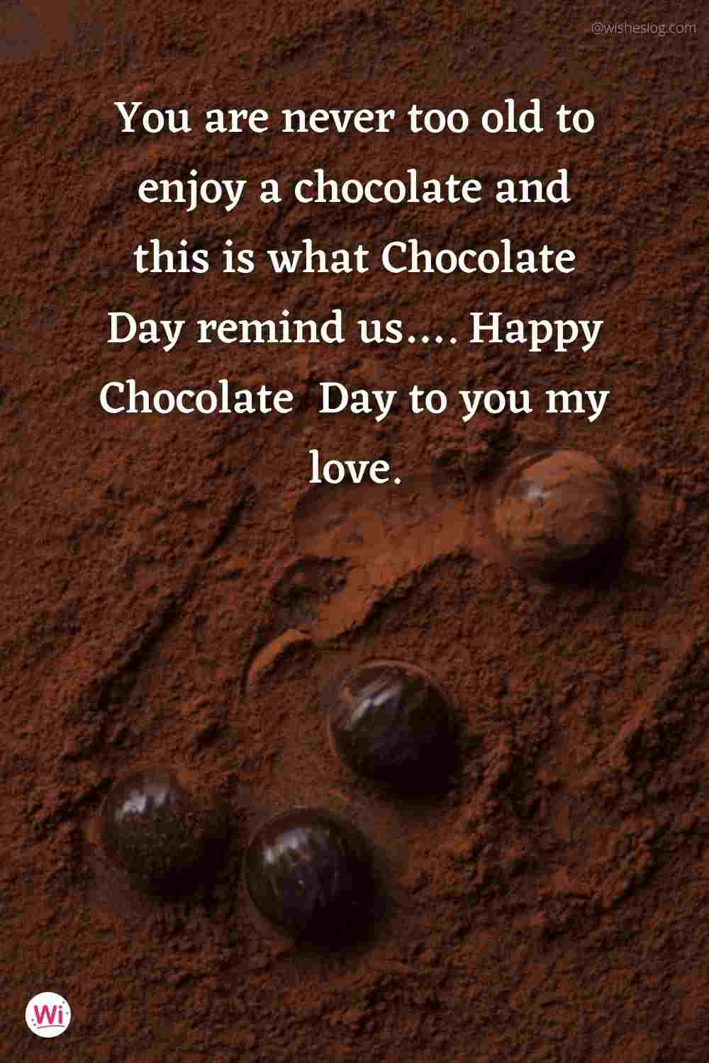 happy chocolate day wishes quotes for girlfriend
