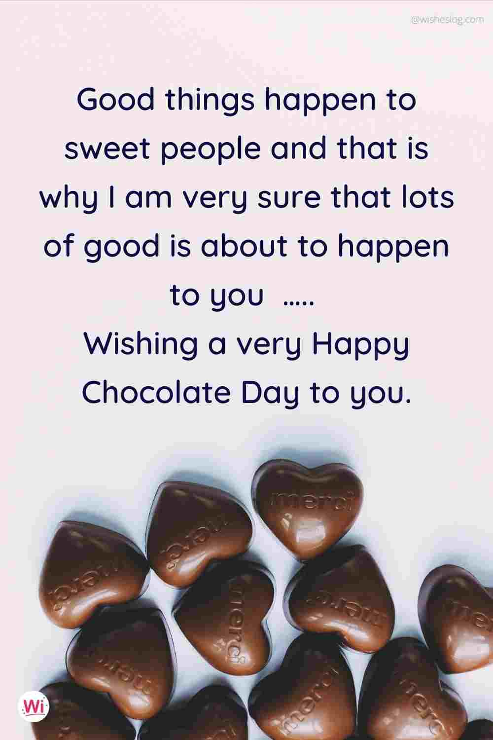 happy chocolate day msg for gf