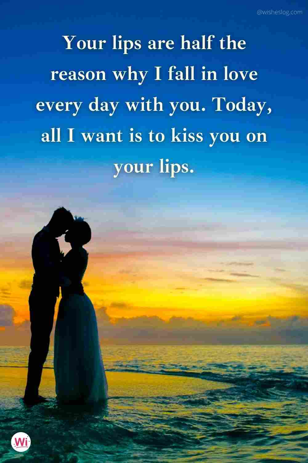 happy kiss day wishes quotes for girlfriend