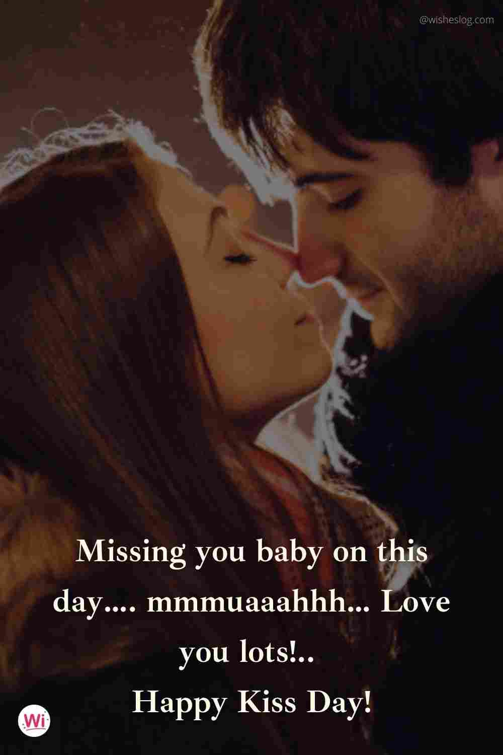 happy kiss day quotes for girlfriend