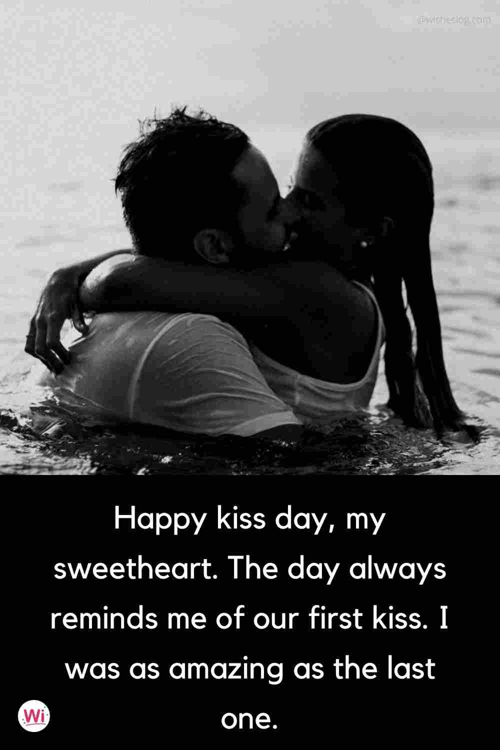 happy kiss day for girlfriend