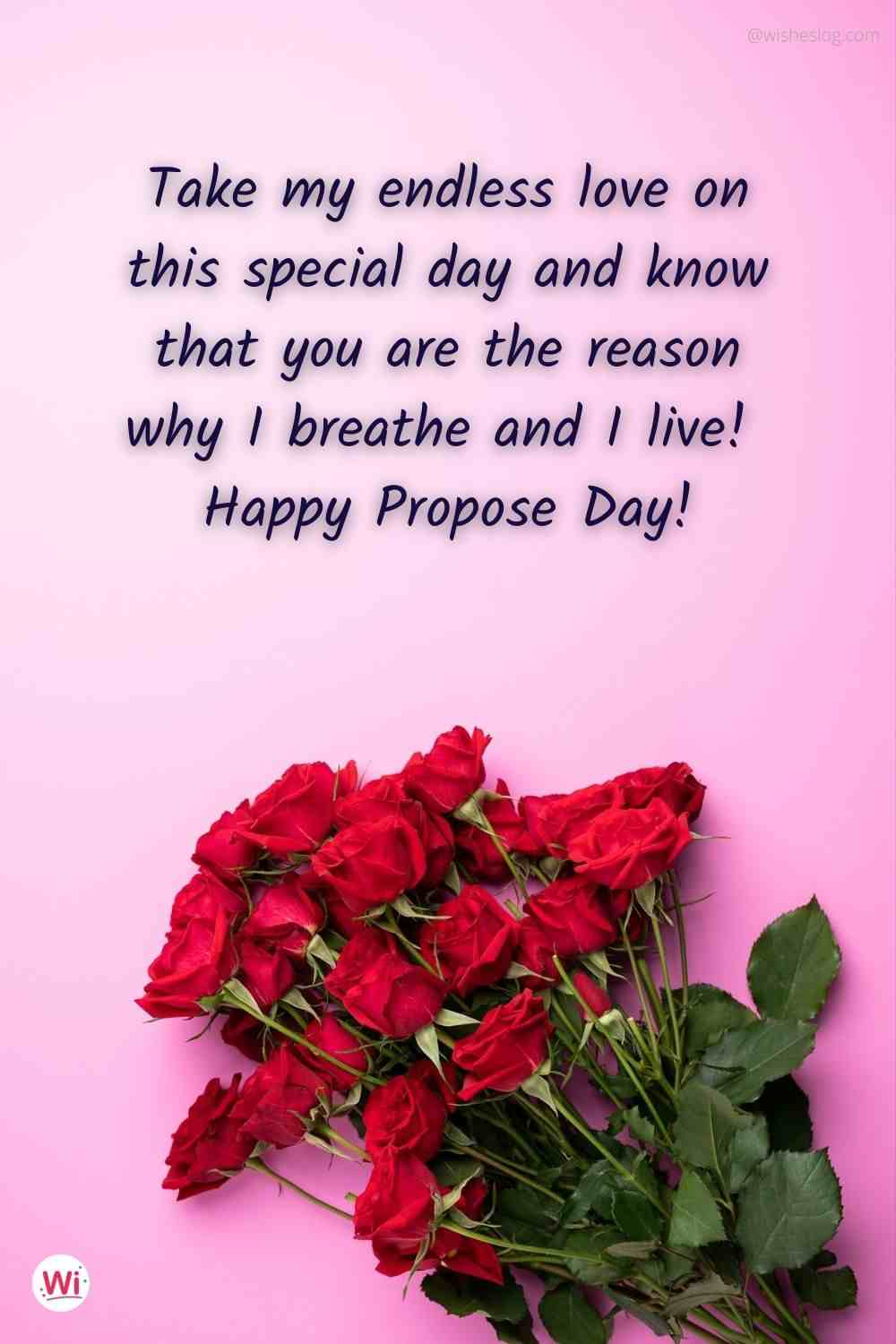propose day message for wife