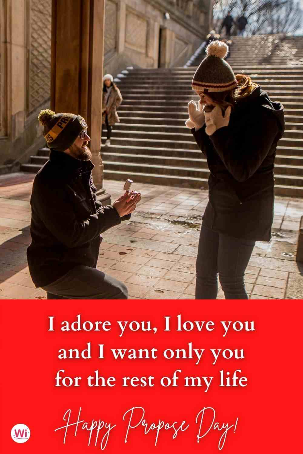 propose day message for girlfriend